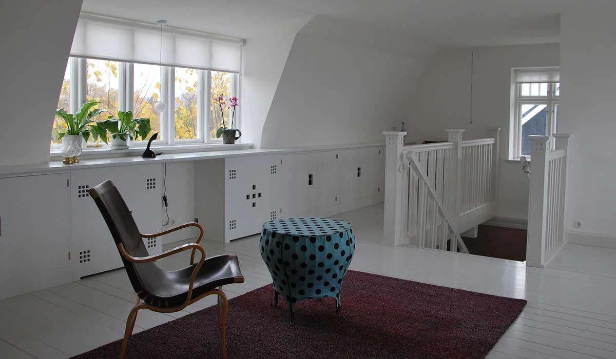 Brantevik, övre hall