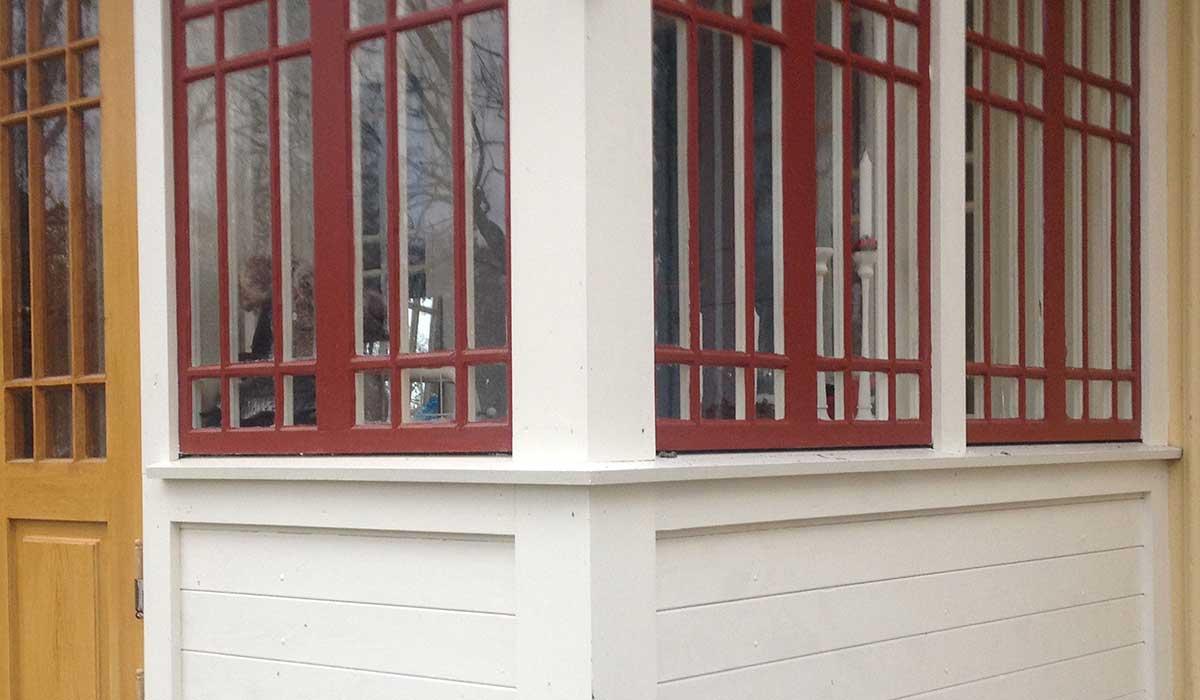 Fagerhult, detalj veranda